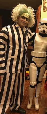 Beetlejuice Halloween Costume - size adult Phillipsburg, 08865