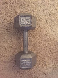 25 pound dumbbell Airdrie, T4A 0A4