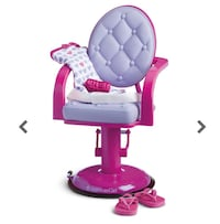 American Girl Salon Chair and Wrap Set Toronto, M9A 2L4