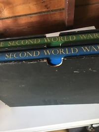 THE SECOND WORLD WAR, VOLUMES 1 & 2 by Winston S. Churchill Dover, 17315
