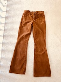 Target corduroy flare pants! Size 8 Chantilly, 20152