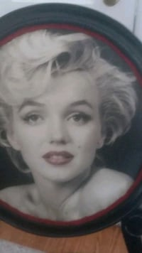 Restored Marlyn Monroe chair.