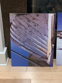 IKEA Beach Prints on particle board
