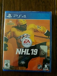 NHL 19 PS4 game New Edmonton, T5Z 0N2