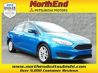 2015 Ford Focus SE sedan Blue Candy Metallic Tinted Clearcoat Canton