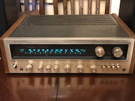 VINTAGE AUDIOPHILE KENWOOD AM/FM STEREO RECEIVER MODEL KR-7400 MADE IN JAPAN, just had it recapped and had a special low heat resistor installed, works as should sounds great
