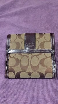 brown and black Coach wallet San Jose, 95124