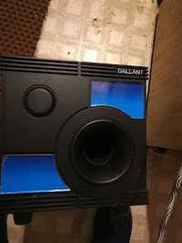Non powered sub woofer  Langley, V3A 7T5
