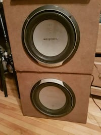 ROCKFORD FOSGATESubs and SONY amp  Aylmer, N5H