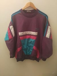 sweat pourpre et turquoise Adidas