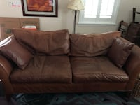 Ethan Allen leather sofa Tampa, 33611