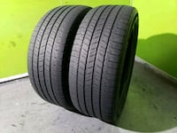 TWO USED 225/50/17 MICHELIN ENERGY SAVER A/S  813 mi