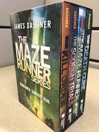 Maze Runner Box Set Calgary, T3H 5L6
