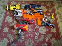 Nerf guns and  accessories $35 obo York County, 17408