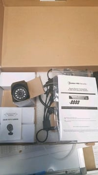 4 Camera security system with DVR