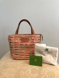 Kate Spade red sequin and raffia hand bag Perry Hall, 21128