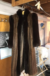 Two Tone Authentic Fur Jacket