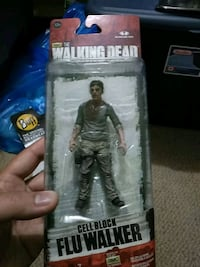 Walking dead cell block flu walker brand new  Mississauga, L4X 2V8