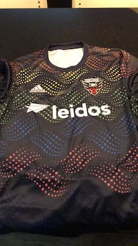 D.C UNITED Pre-match pride training jersey Fairfax, 22030