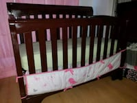 Baby crib - dark brown Port Richey, 34668