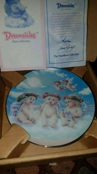 "Collector Plate Greamsicles ""The Flying Lesson"""