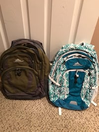 High Sierra backpacks - $20 each Columbia, 21044