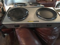 Curtis AW-2 and Bloomfield 8872 Dual burner coffee warmer Ardmore