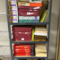 Shelves full of NEW hard legal file folders. Not the rack...just the folders and envelopes. Hagerstown, 21742
