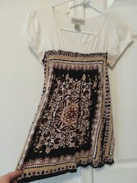 white and black floral dress Martinsburg