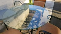 42 inch round counter height patio table Tempe, 85283