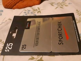 Sports check gift card