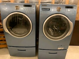Samsung Washer & Dryer (Washer needs motor)