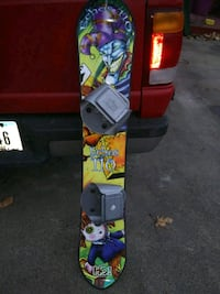 Snowboard pre-owned good condition. x-posted.