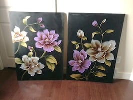 flower canvas prints