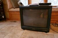 24 inch Hitachi Television plus DVD player.  Multiple inputs for games Louisville, 68037