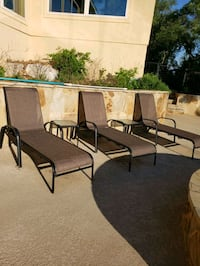 Patio lounge chairs  Helotes, 78023