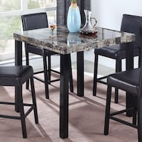 *** Table Only, Chairs are not available***Best Master Furniture's Britney Counter| SKU# 62-135 Santa Ana