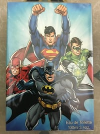 Justice League 3.4oz. Edt Spray For Kids New In Box Miami, 33176