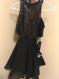 Size S sequin dress black Calgary, T2N 4K3
