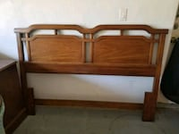 brown wooden bed headboard and footboard Inverness, 34453