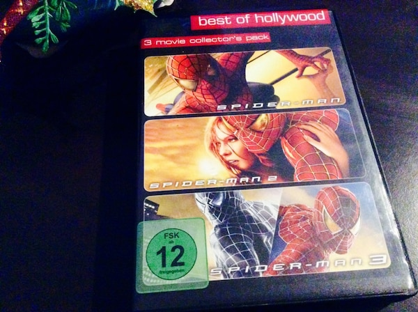 Best of Hollywood Spider-Man DVD-Hülle