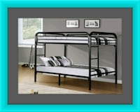 Twin bunkbed frame 2 mattress free delivery Falls Church, 22041