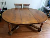 Made in Italy Solid MAPLE Wood Dinning Table  Germantown, 20874