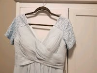 Beautiful formal gown in pale blue size 8/10 Ottawa, K4M