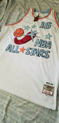 *RARE* Mitchell & Ness Bob Lainer All Star Jersey  Detroit, 48227