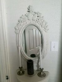 White French Wall hanging Mirror San Antonio, 78233