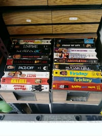 Classic DVD's and VHS Tapes
