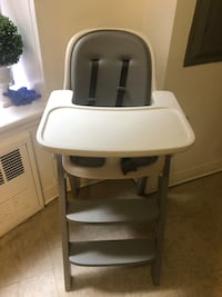 OXO Tot Sprout High Chair Tray Cover white and gray