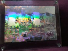 Michael Jordan 1992 MVP hologram card