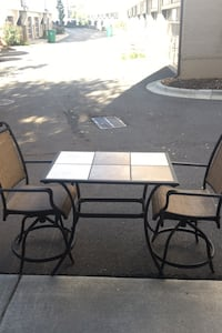 Outdoor Ceramic Tiled Table w/ Chairs Charlotte, 28203